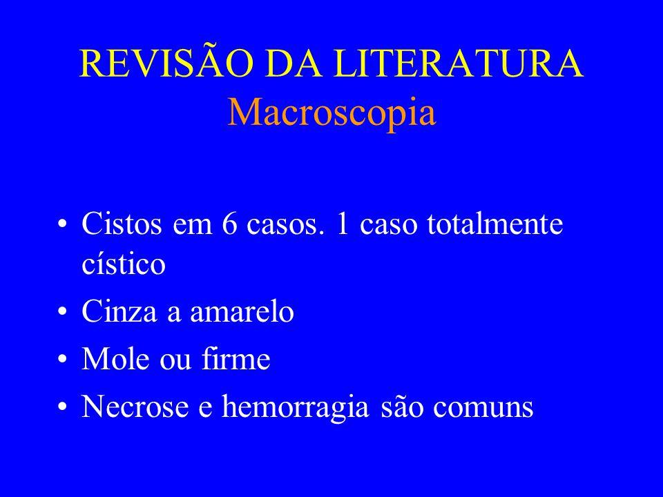 REVISÃO DA LITERATURA Macroscopia