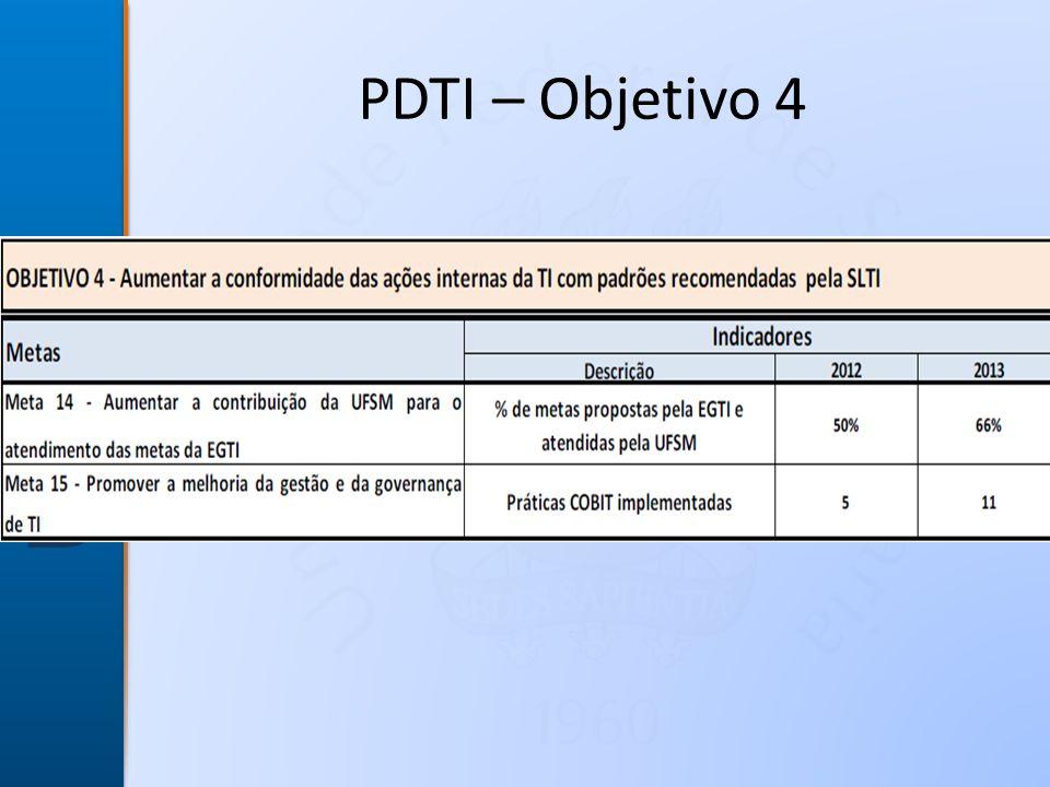 PDTI – Objetivo 4