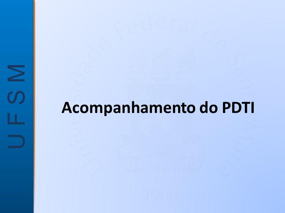 Acompanhamento do PDTI