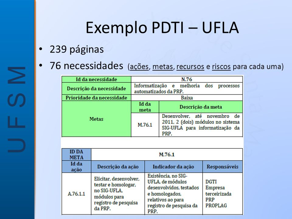 Exemplo PDTI – UFLA 239 páginas