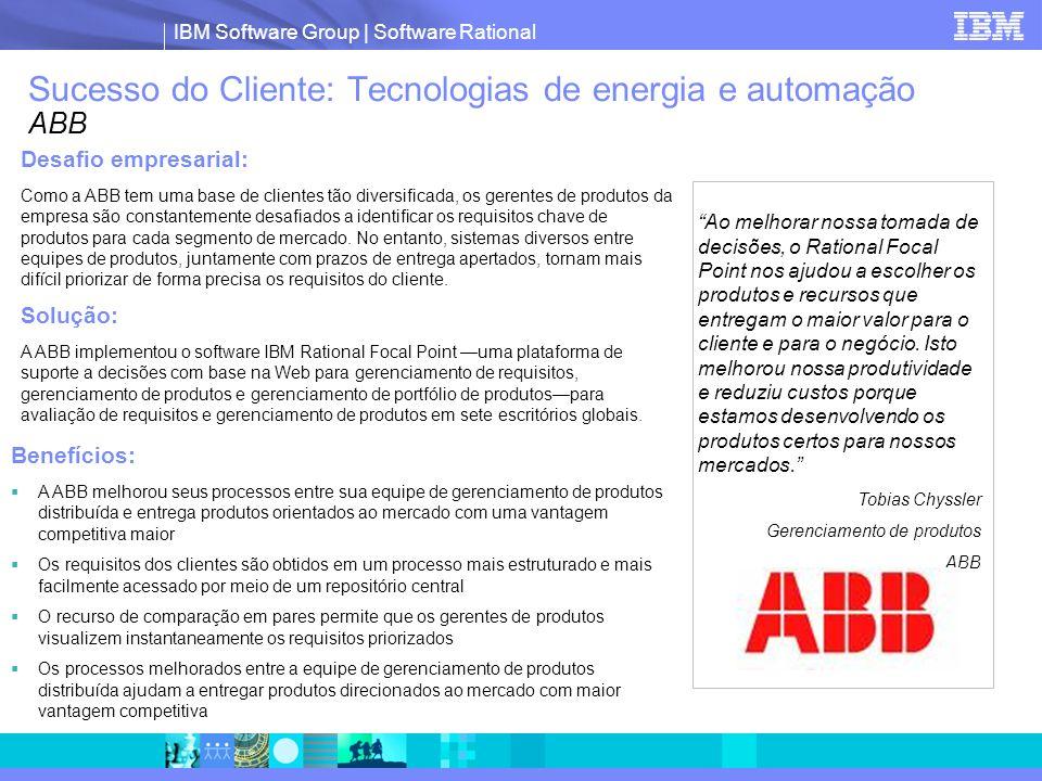 Sucesso do Cliente: Tecnologias de energia e automação ABB
