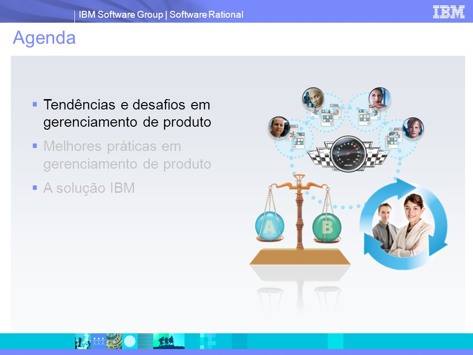 Agenda Tendências e desafios em gerenciamento de produto
