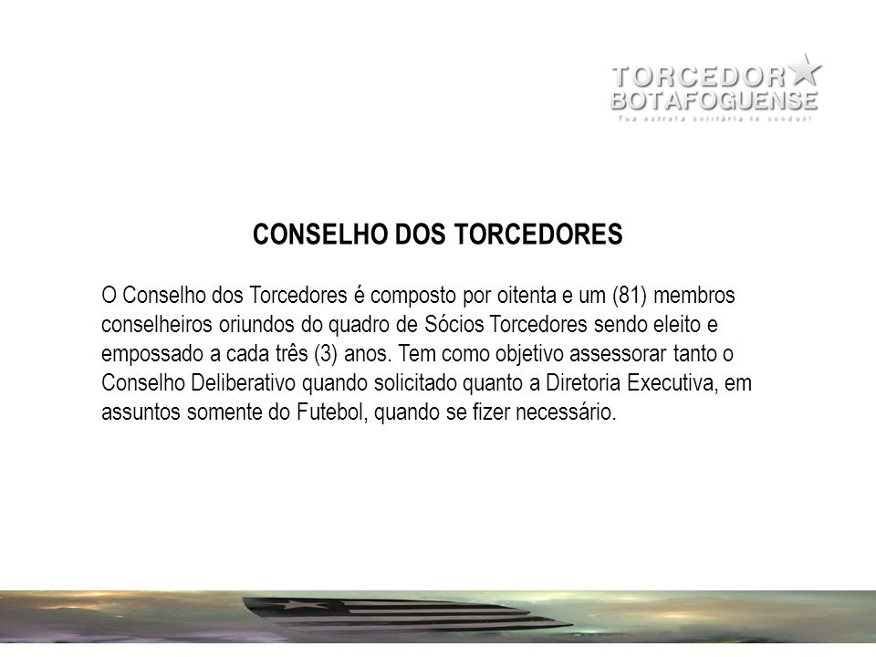 CONSELHO DOS TORCEDORES