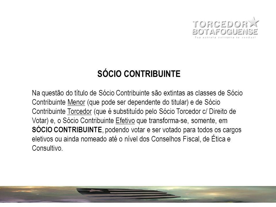 SÓCIO CONTRIBUINTE
