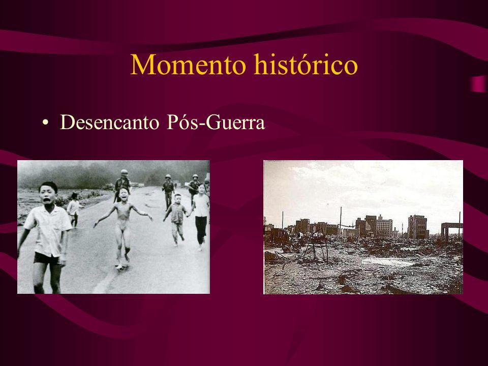 Momento histórico Desencanto Pós-Guerra