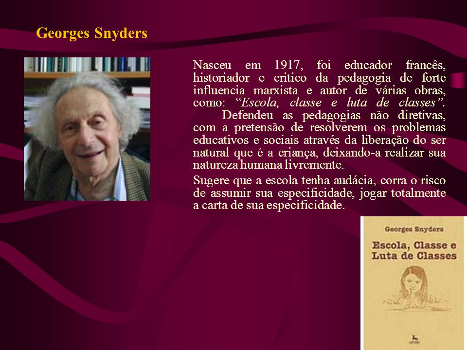 Georges Snyders