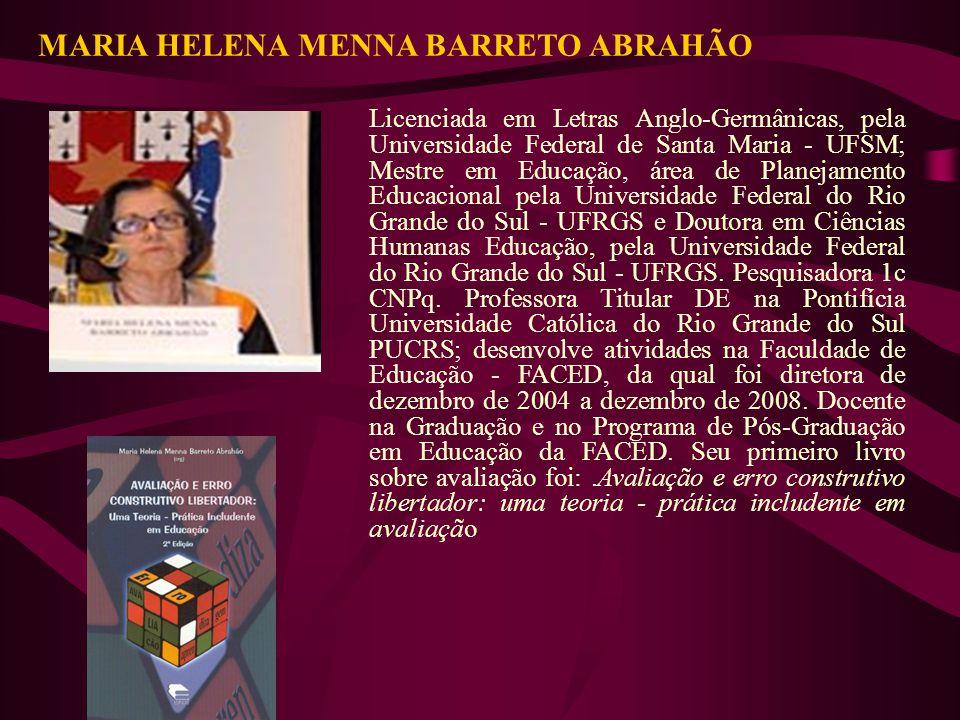 MARIA HELENA MENNA BARRETO ABRAHÃO