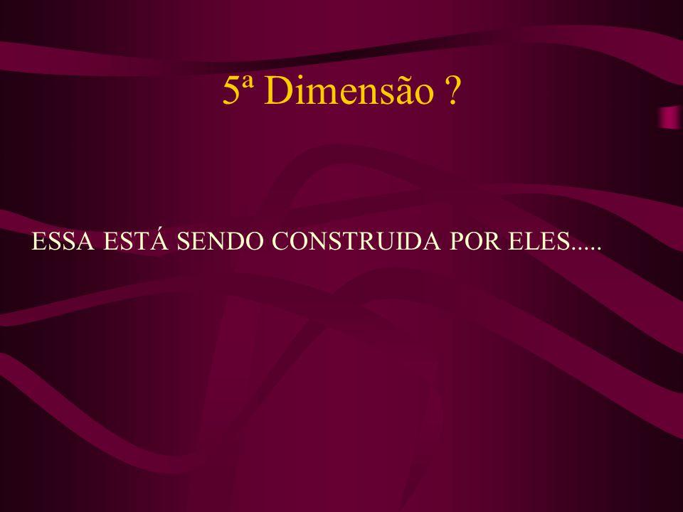 5ª Dimensão ESSA ESTÁ SENDO CONSTRUIDA POR ELES.....