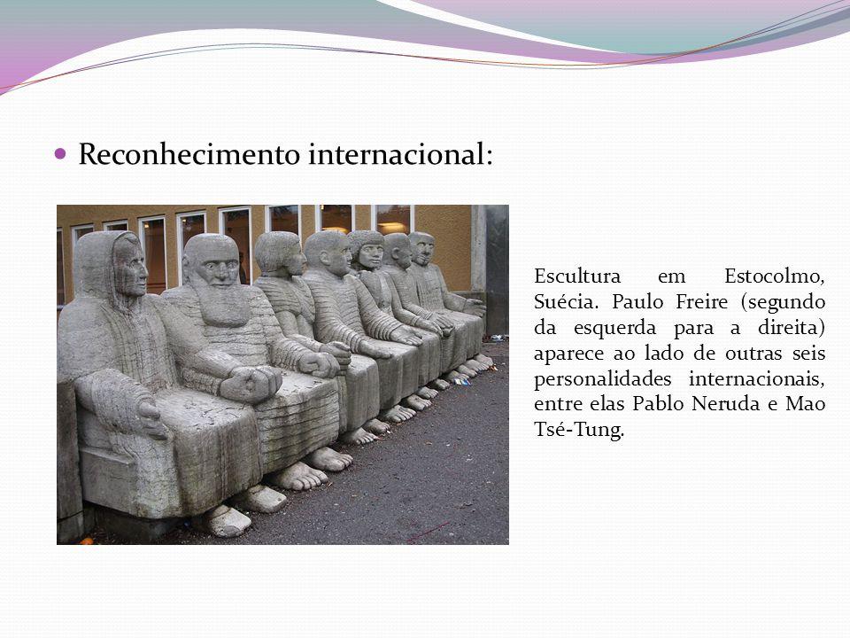 Reconhecimento internacional: