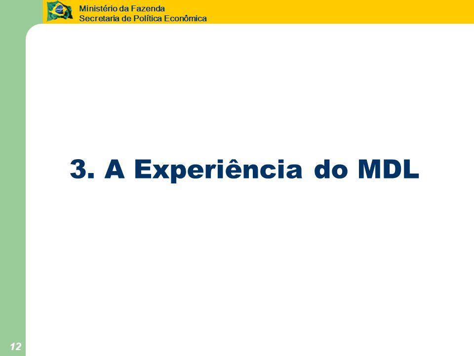 3. A Experiência do MDL