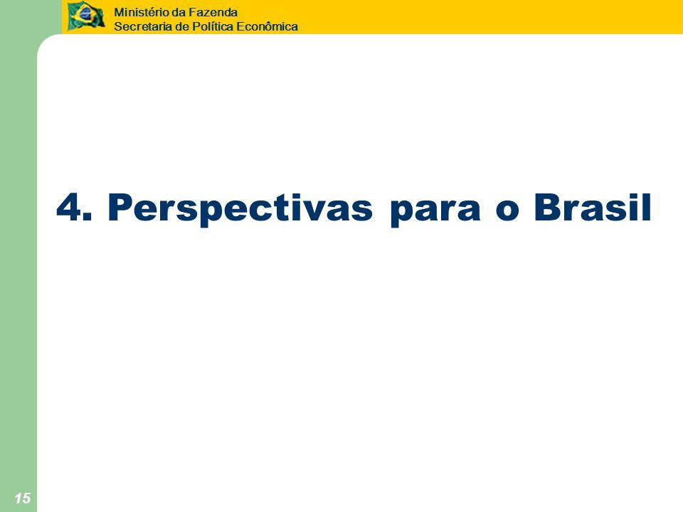 4. Perspectivas para o Brasil