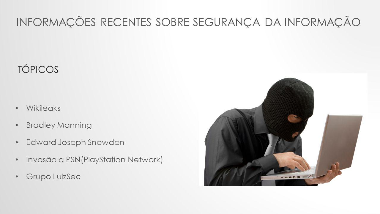 Informações recentes sobre segurança da informação