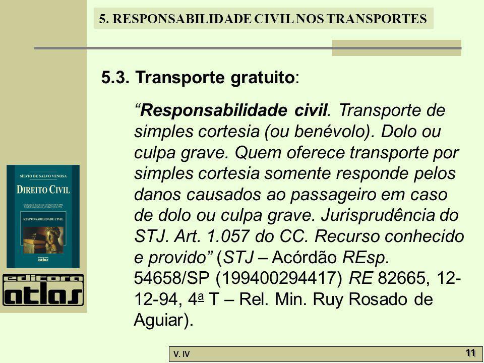 5.3. Transporte gratuito: