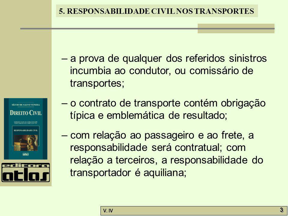 – a prova de qualquer dos referidos sinistros incumbia ao condutor, ou comissário de transportes;