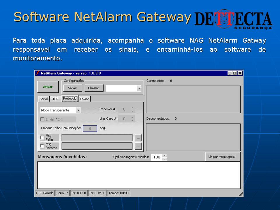 Software NetAlarm Gateway