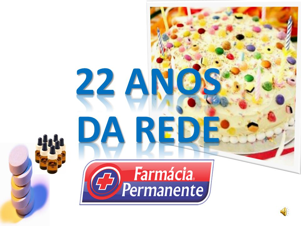 22 ANOS DA REDE