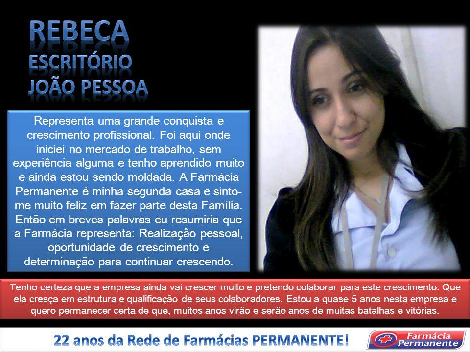 REBECA ESCRITÓRIO JOÃO PESSOA