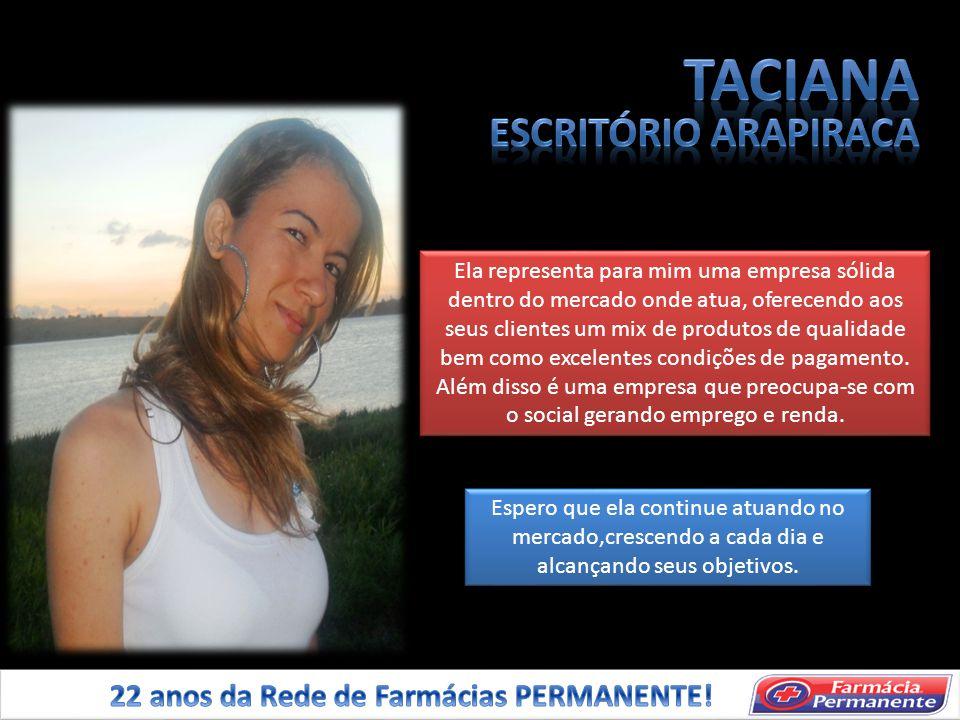 TACIANA ESCRITÓRIO ARAPIRACA