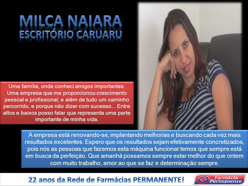 MILCA NAIARA ESCRITÓRIO CARUARU