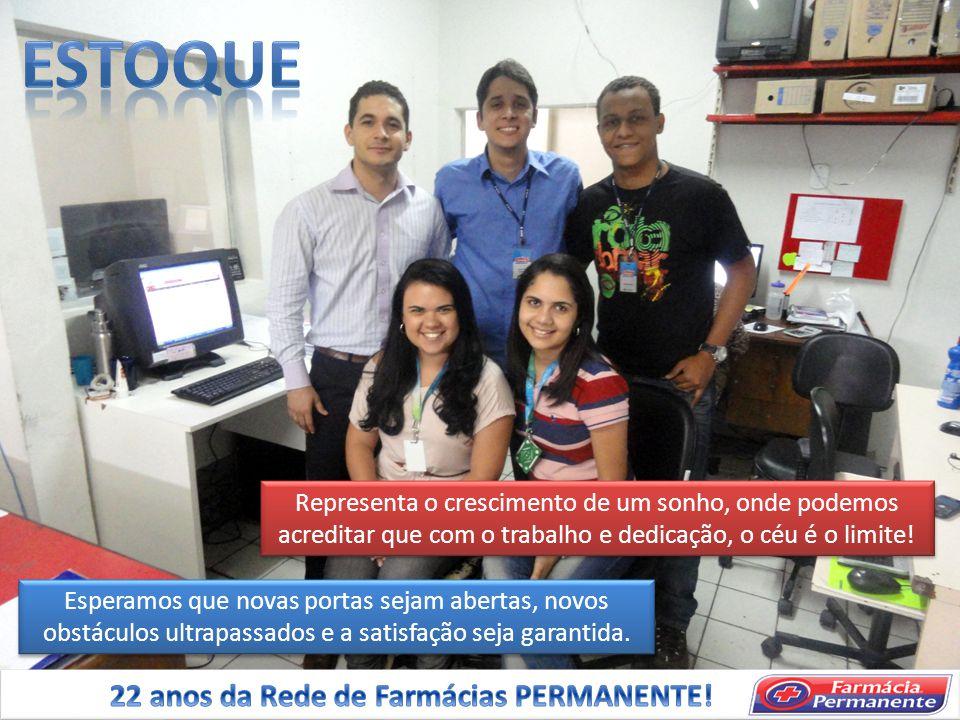 ESTOQUE 22 anos da Rede de Farmácias PERMANENTE!
