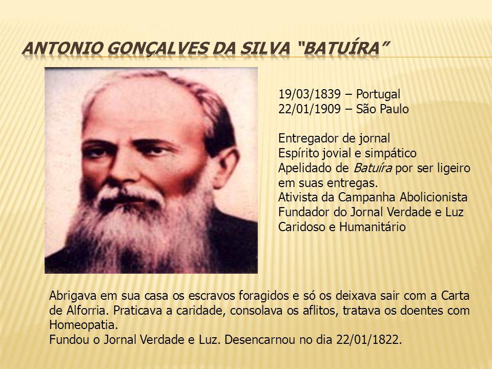 ANTONIO GONÇALVES DA SILVA BATUÍRA