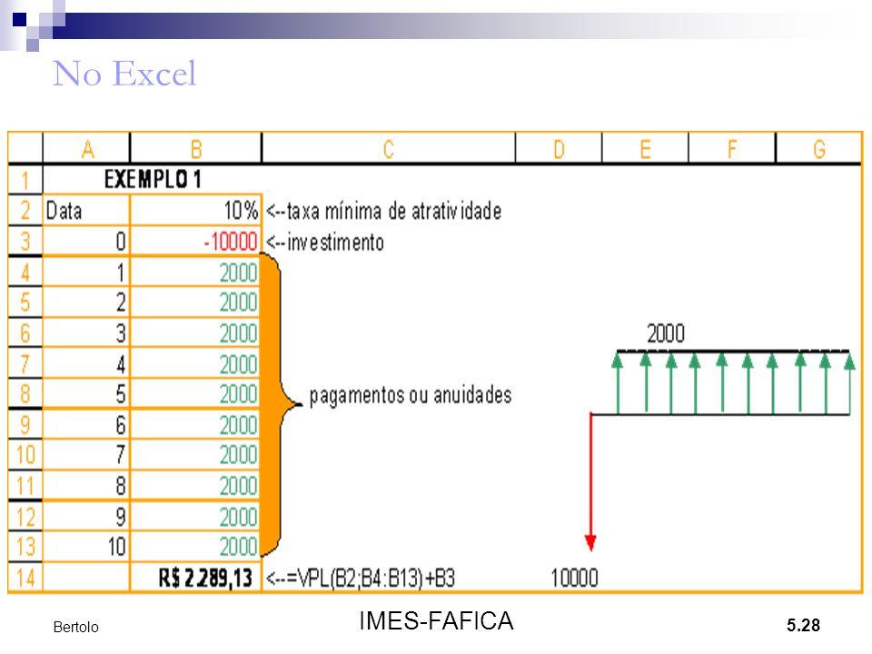 No Excel Bertolo IMES-FAFICA