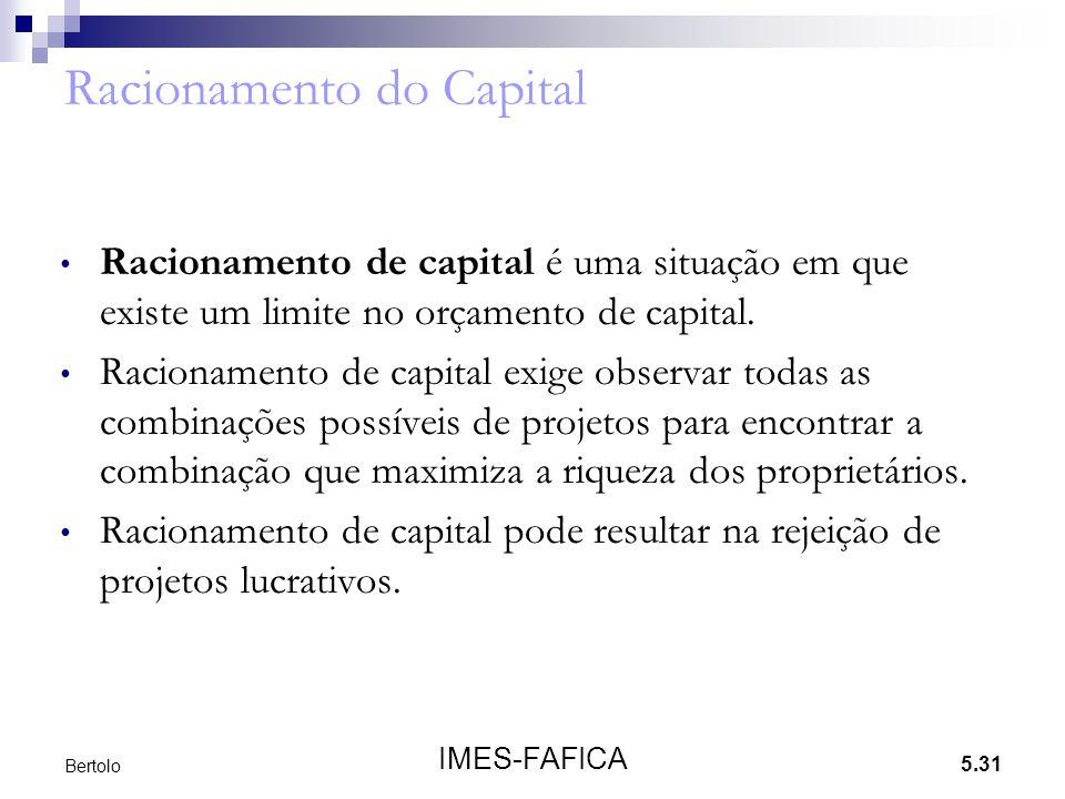 Racionamento do Capital