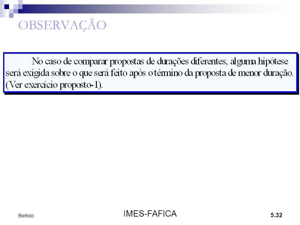 OBSERVAÇÃO Bertolo IMES-FAFICA