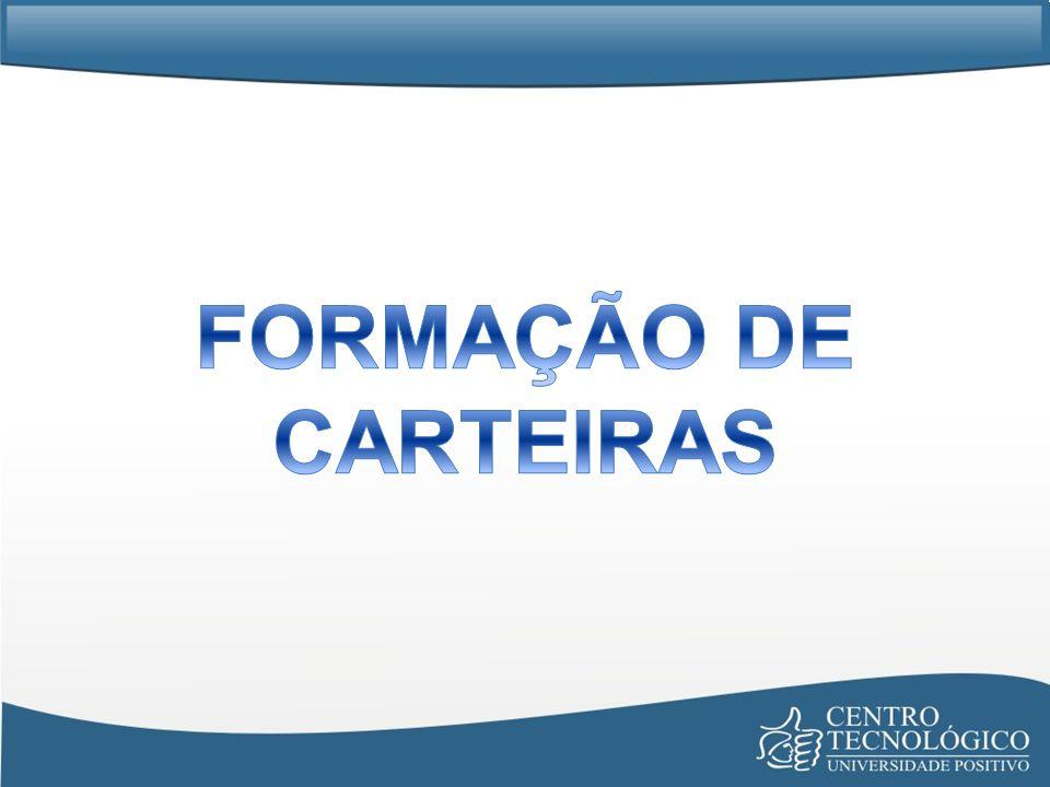 FORMAÇÃO DE CARTEIRAS