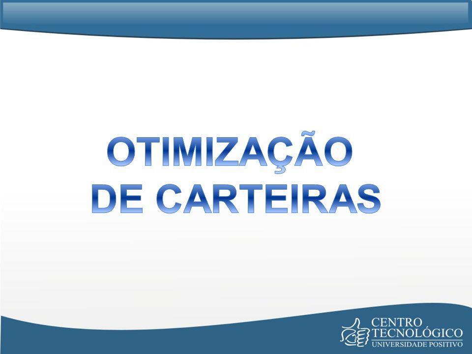 OTIMIZAÇÃO DE CARTEIRAS