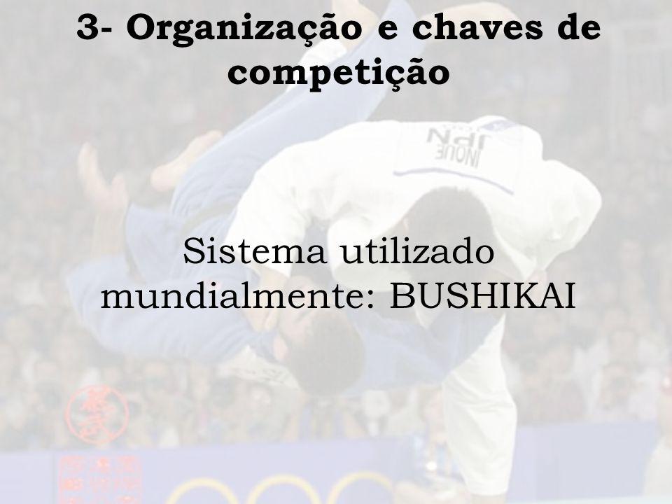 3- Organização e chaves de competição
