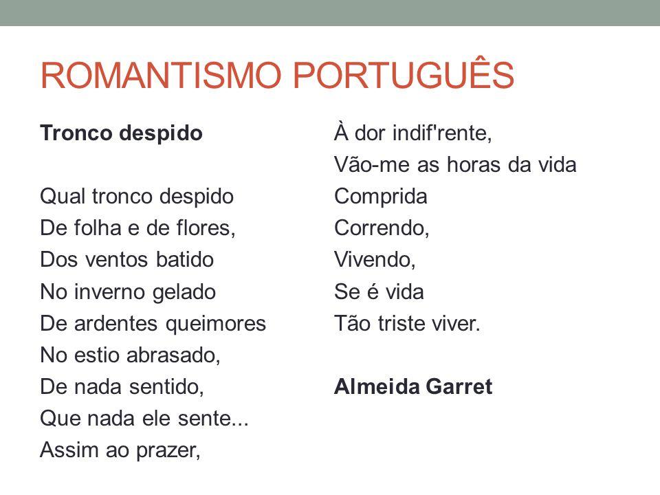 ROMANTISMO PORTUGUÊS