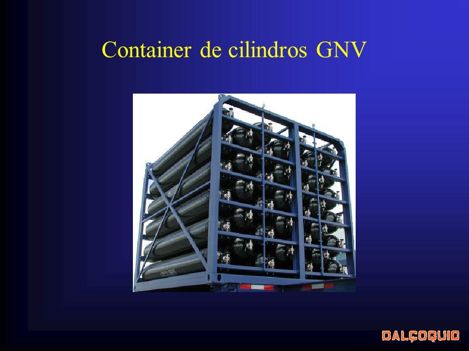 Container de cilindros GNV