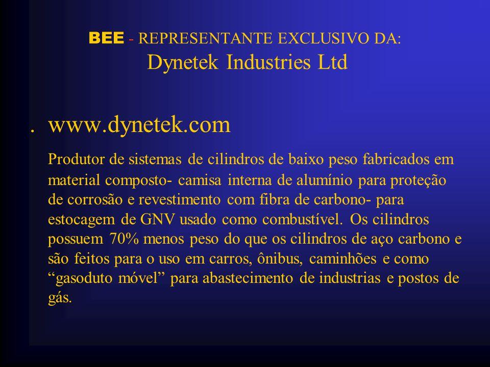 BEE - REPRESENTANTE EXCLUSIVO DA: Dynetek Industries Ltd