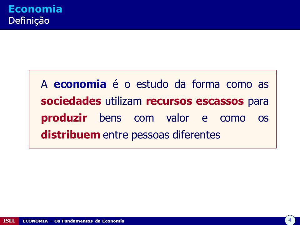 Economia Definição