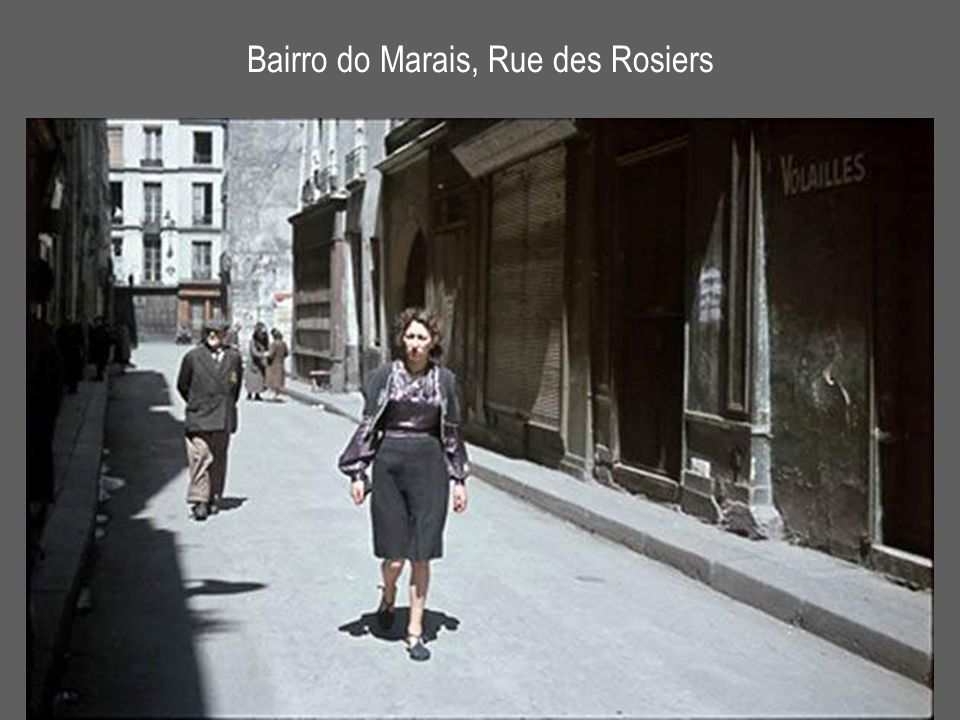 Bairro do Marais, Rue des Rosiers