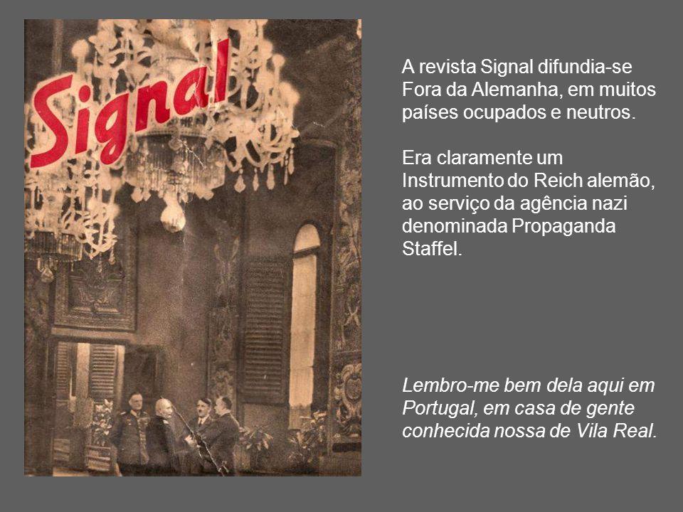 A revista Signal difundia-se