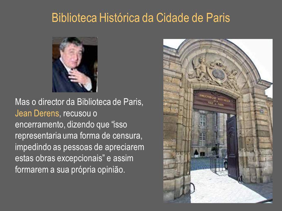Biblioteca Histórica da Cidade de Paris