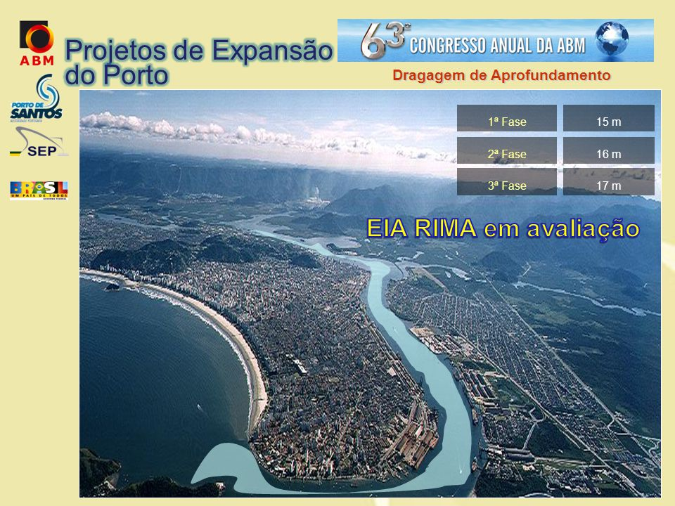 Projetos de Expansão do Porto EIA RIMA em avaliação
