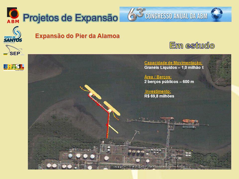 Projetos de Expansão Expansão do Pier da Alamoa