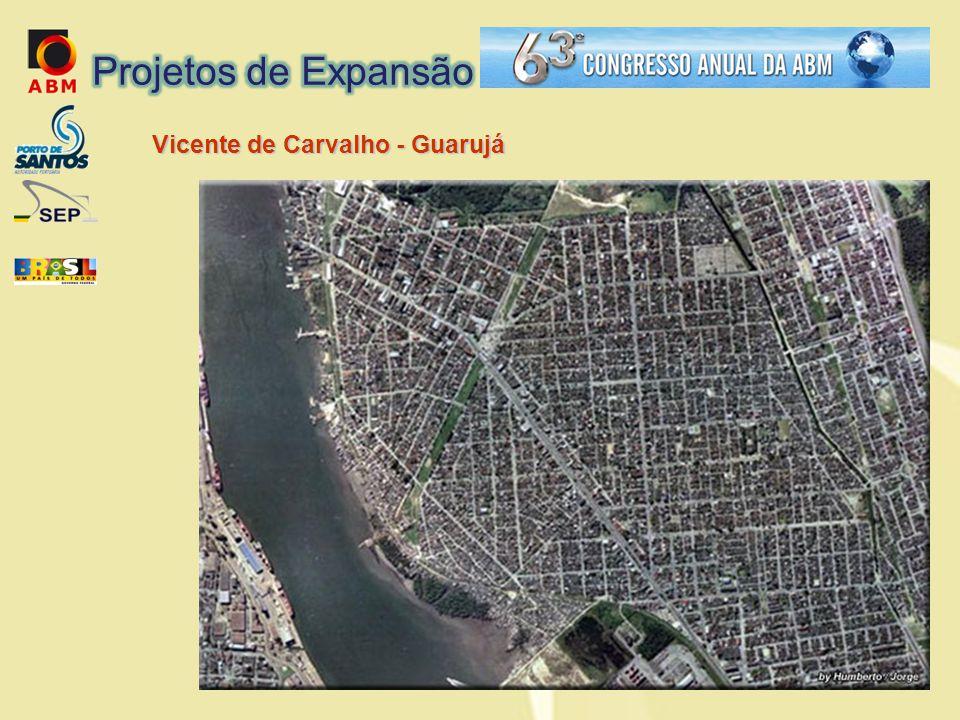 Projetos de Expansão Vicente de Carvalho - Guarujá