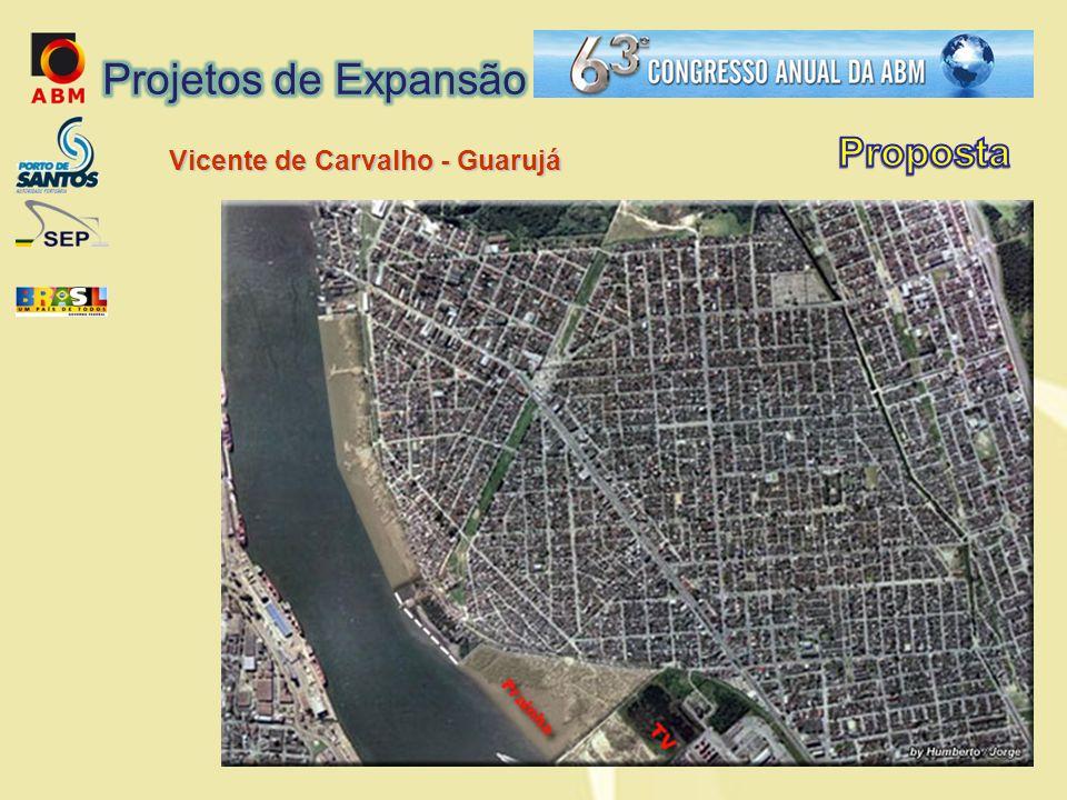 Projetos de Expansão Proposta Vicente de Carvalho - Guarujá