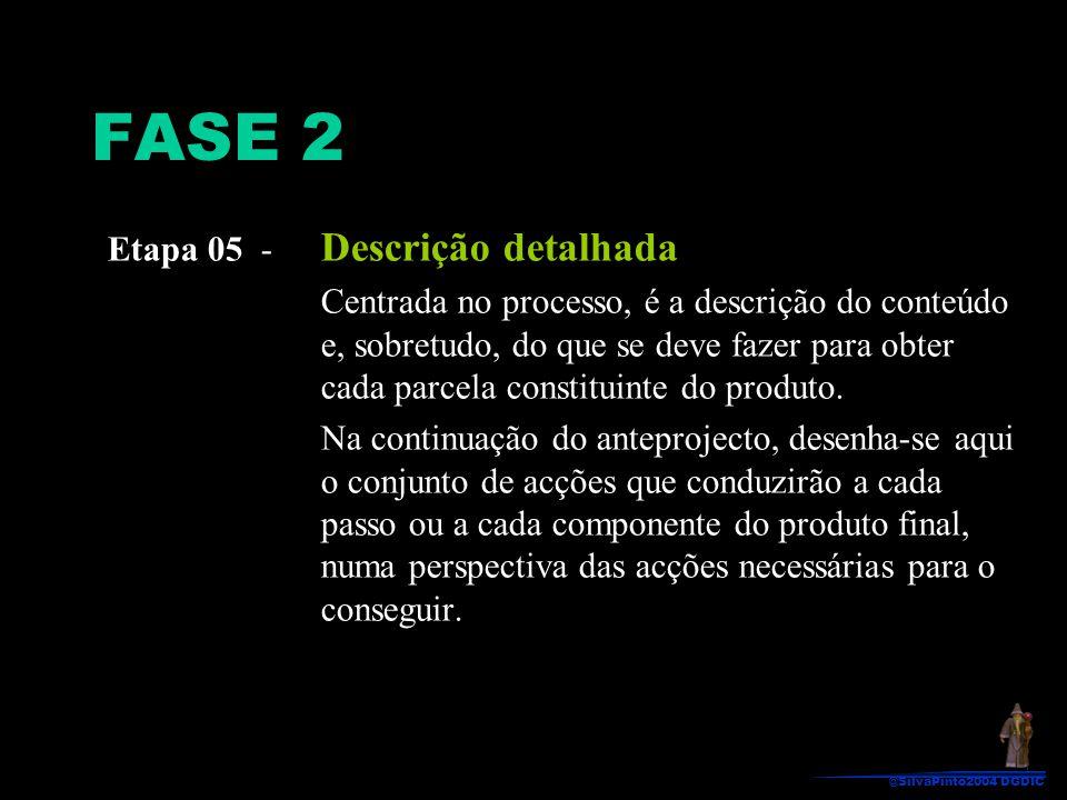 FASE 2 Etapa 05 - Descrição detalhada