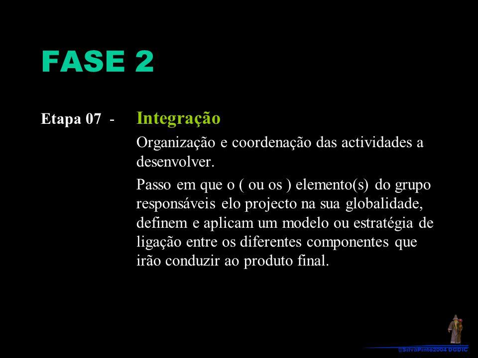 FASE 2 Etapa 07 - Integração