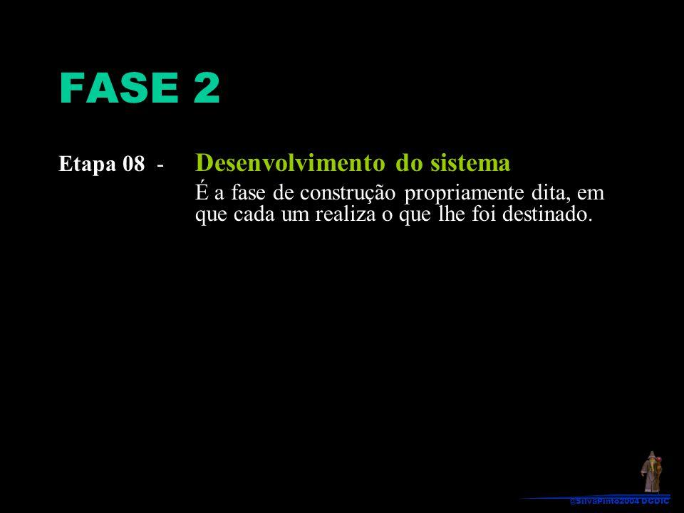 FASE 2 Etapa 08 - Desenvolvimento do sistema