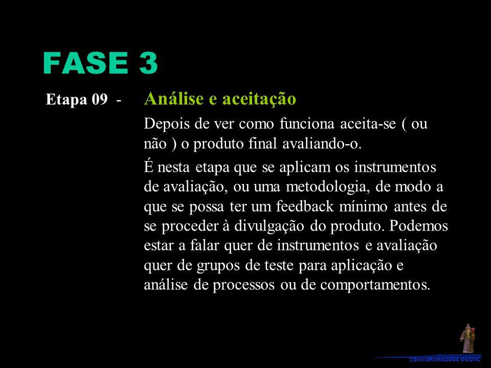 FASE 3 Etapa 09 - Análise e aceitação