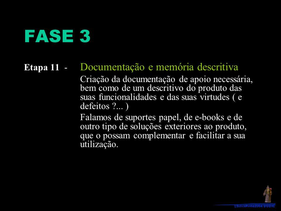 FASE 3 Etapa 11 - Documentação e memória descritiva