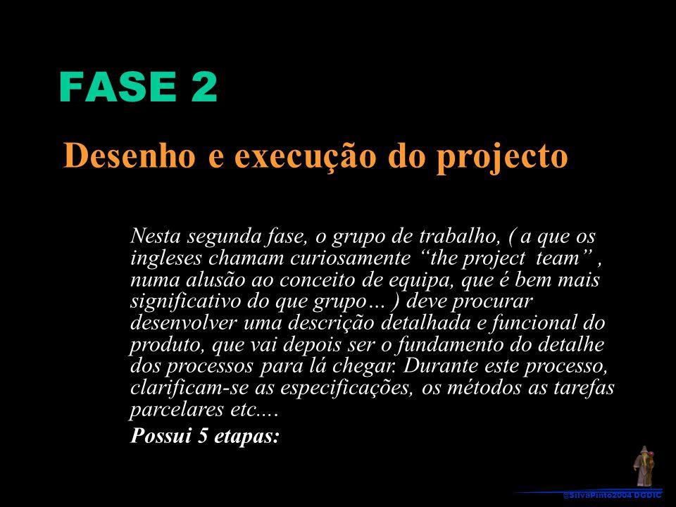 FASE 2 Desenho e execução do projecto