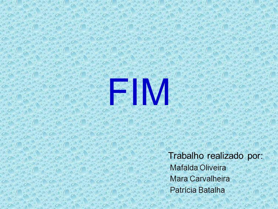 FIM Trabalho realizado por: Mafalda Oliveira Mara Carvalheira