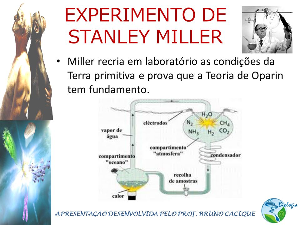 EXPERIMENTO DE STANLEY MILLER